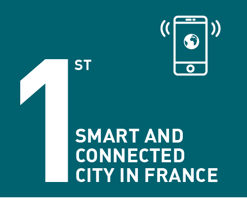 First smart and connected city in France
